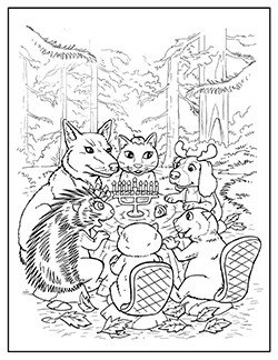 Christmas Star Coloring Pages