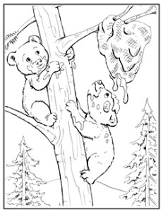 maggiemoosetracks wolf pack coloring pages - Coloring Pages Of Wolves